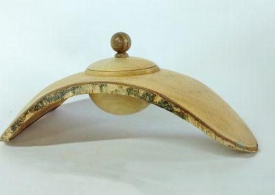 Boite suspendue en bois de bouleau